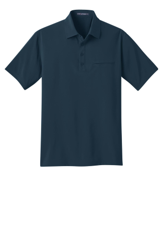 Ultra Stretch Pocket Polo