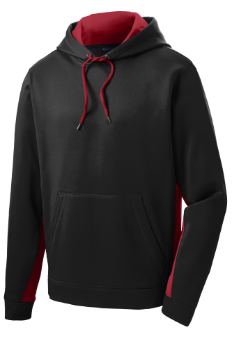 Sport-Wick Fleece Colorblock Hooded Pullover