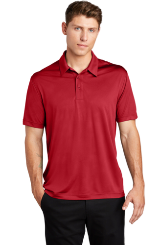 Embossed PosiCharge Tough Polo
