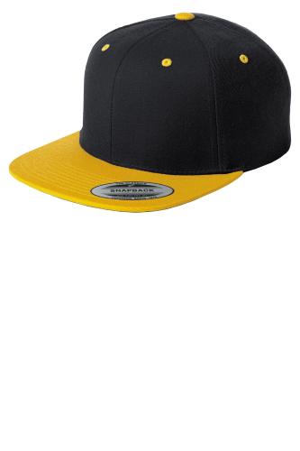 Sport-Tek Flat Bill Snapback Cap