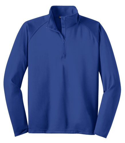 Sport-Tek Tall Sport-Wick Stretch 1/2-Zip Pullover