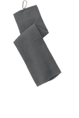 Waffle Microfiber Golf Towel