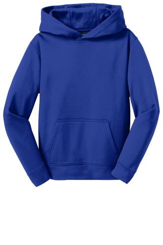 Youth Sport-Wick Fleece Hooded Pullover