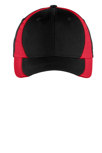 Sport-Tek Youth Dry Zone Nylon Colorblock Cap